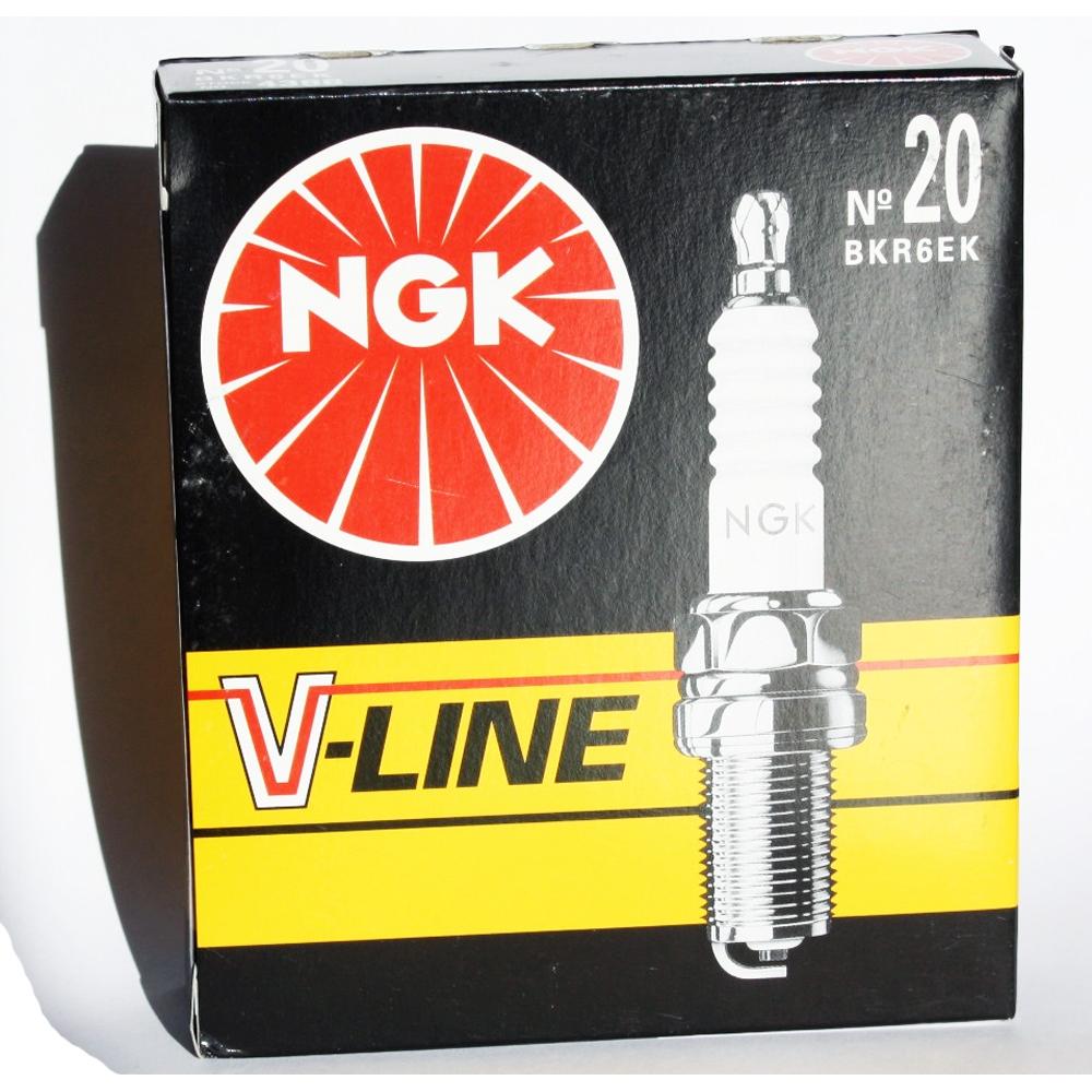 *ZÜNDKERZEN NGK V-Line 20 4 Stück 4388 BKR6EK