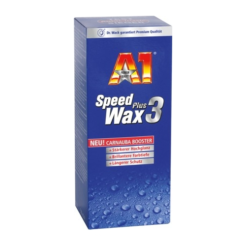 a1 speed wax plus 3 500ml von dr wack poliermittel. Black Bedroom Furniture Sets. Home Design Ideas